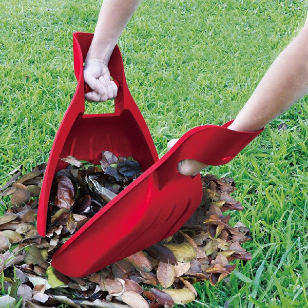 Tabor Tools Leaf Scoops: Garden and Yard Hand Rakes (1 Pair)