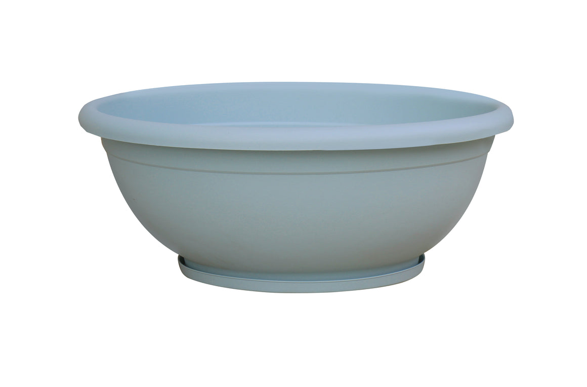 Plastic Bowl Planters (8 colors)