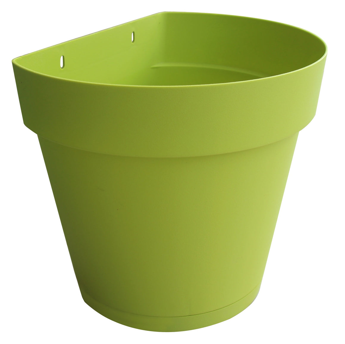 "TABOR TOOLS Plastic Wall Planter Pot for Vertical Flower Garden, Living Wall or Kitchen Herbs, with Attached Saucer (Height: 8 1/2"")"
