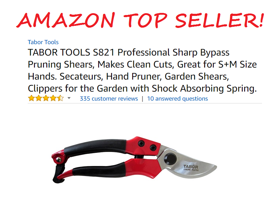 Tabor Tools Pruning Shears Amazon Top Seller