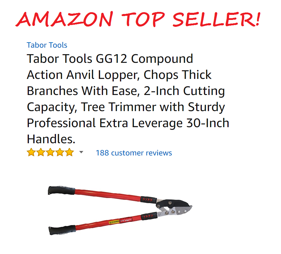 Tabor Tools Anvil Lopper Amazon Top Seller