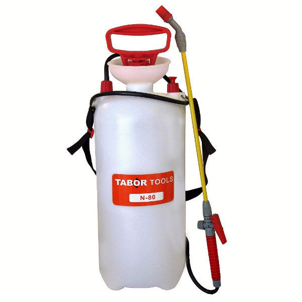 Tabor Tools Hand Pump Chemical and Pesticide Sprayer 2 Gallon
