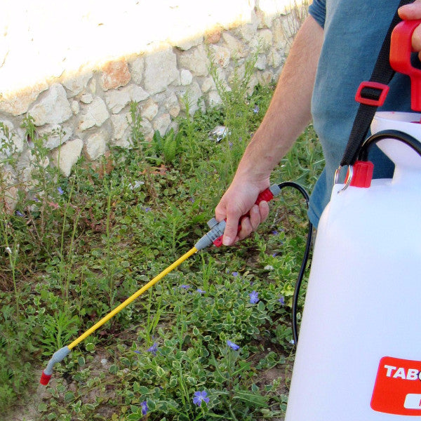Tabor Tools Hand Pump Chemical and Pesticide Sprayer 2 Gallon - Wand
