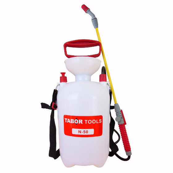 Tabor Tools Hand Pump Chemical and Pesticide Sprayer 1.3 Gallon