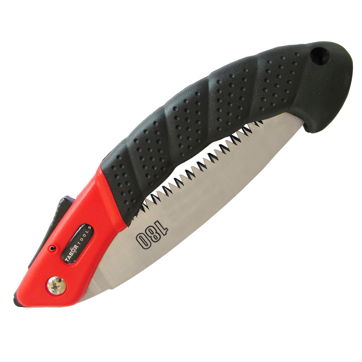 TABOR TOOLS TTS25A Folding Saw with Curved Blade and Rugged Grip Handle