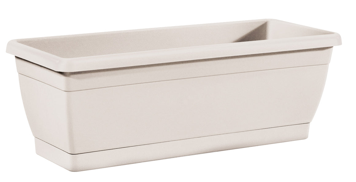 TABOR TOOLS Plastic Window Box Planter, for Indoor and Outdoor Use, Rectangular (16 Inch)