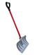 "TABOR TOOLS 18"" Blade Snow Pusher with Fiberglass D-Grip Handle"