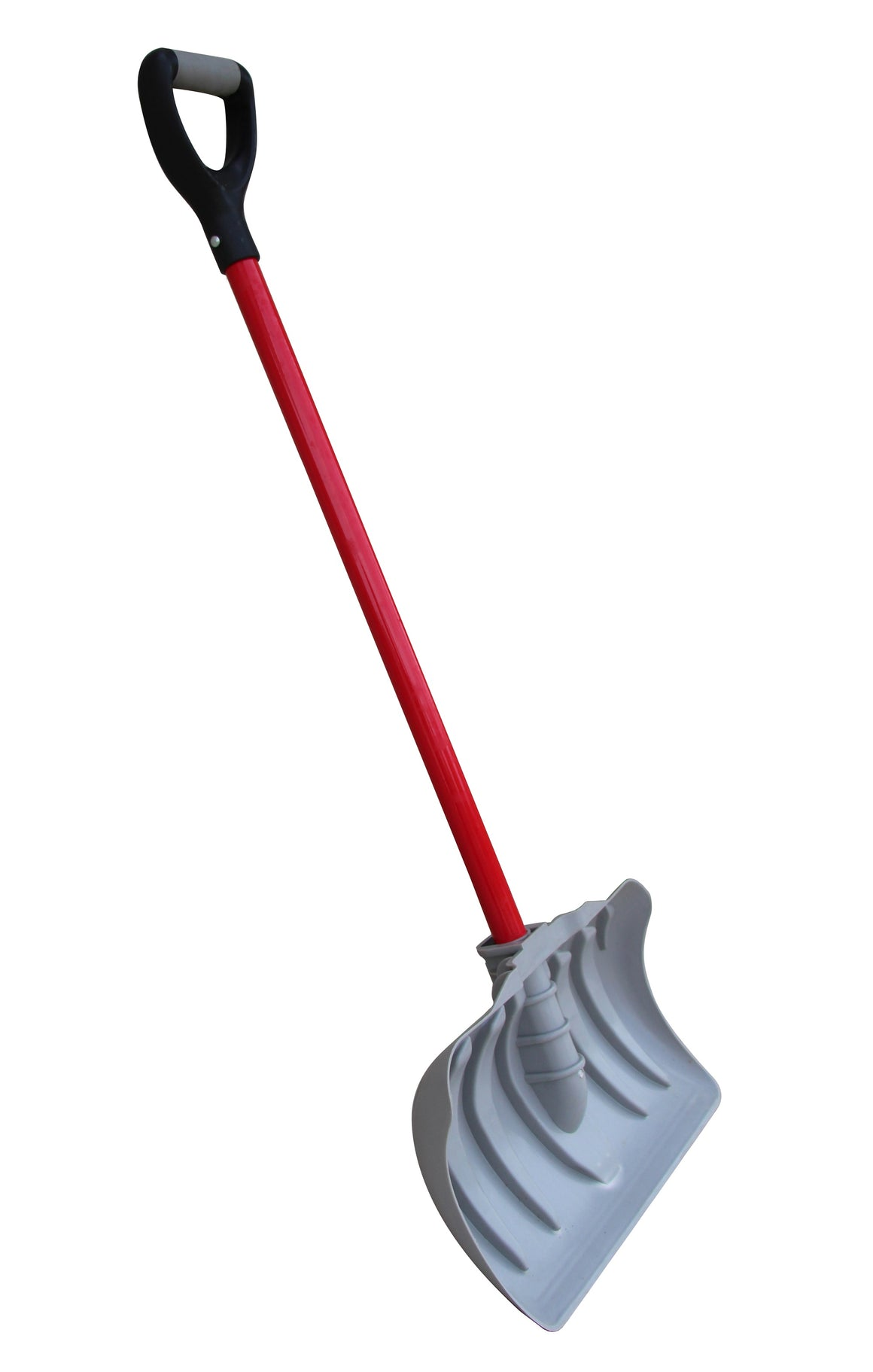 "TABOR TOOLS J219 18"" Blade Snow Pusher with Fiberglass Handle, Snow Shovel With Comfortable D-Grip 35"" Handle (Snow Pusher)"