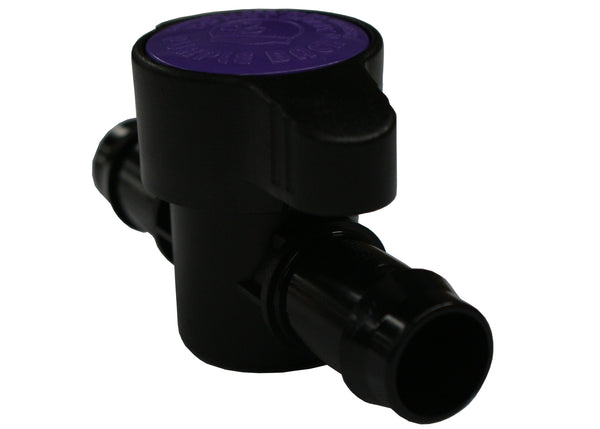 Flushing Valve for greywater irrigation system