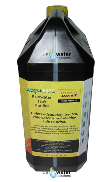 ACQUA SAFE Rainwater Treatment | Davey | 5 Litre