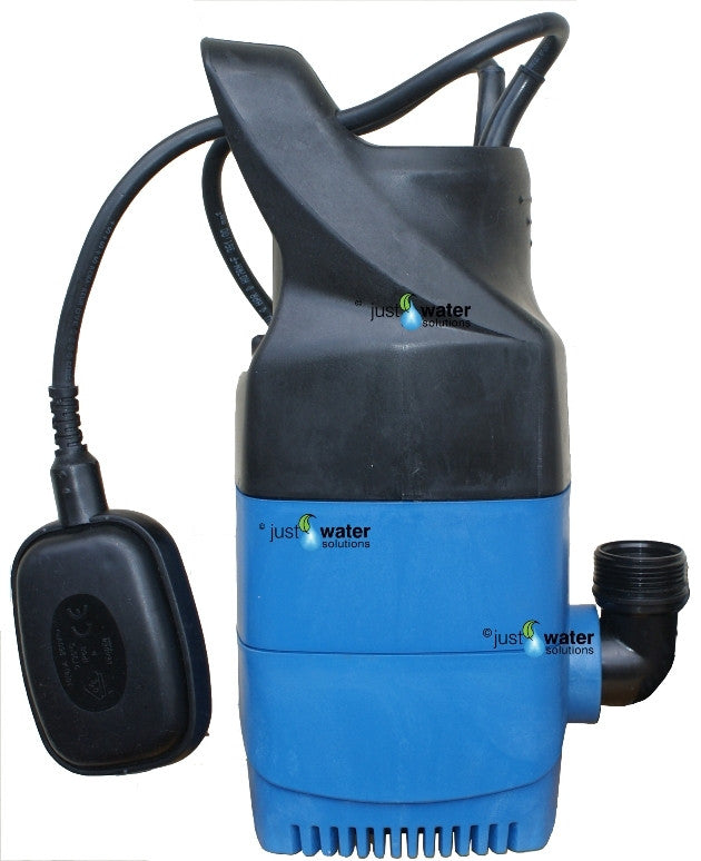 Blue Sub 15 Pump for Greywater Systems Just Water