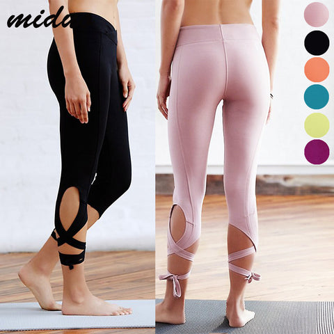 Solid Candy Color Hot Yoga Pants