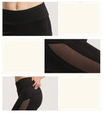 Mesh Side Slim Leggings