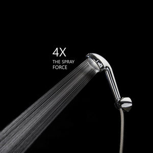 [Chlorine Filter] Turbo Vitamin C Shower Head (Chrome) _ Duschkopf (Chrom) Head