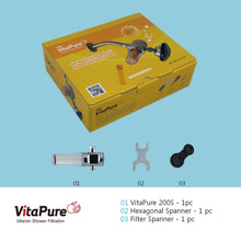 Load image into Gallery viewer, [Iron/rust Filter] Vitapure Suf-200S Water Filter For A Shower Shower