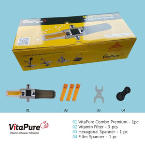 [Chlorine Heavy Metals & Rust Filter] Vitapure Suf-300Vpx Water Filter For A Shower Shower