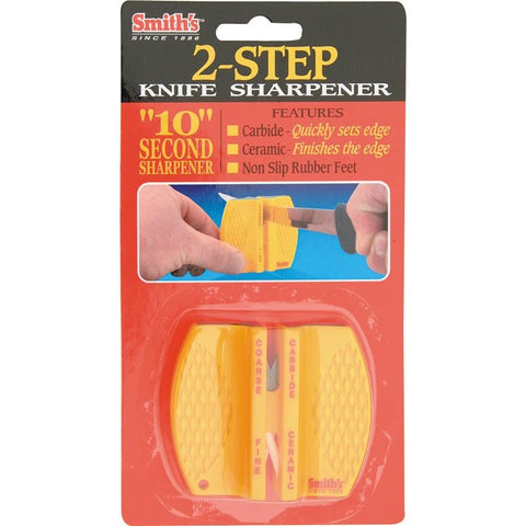 Smith's Sharpeners Two Step Knife Sharpener