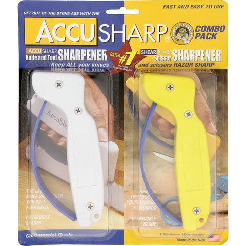 AccuSharp Sharpener Combo Pack