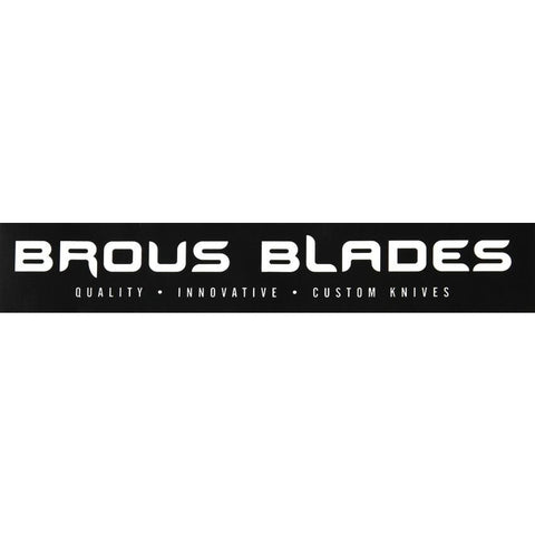 Brous Blades Sticker