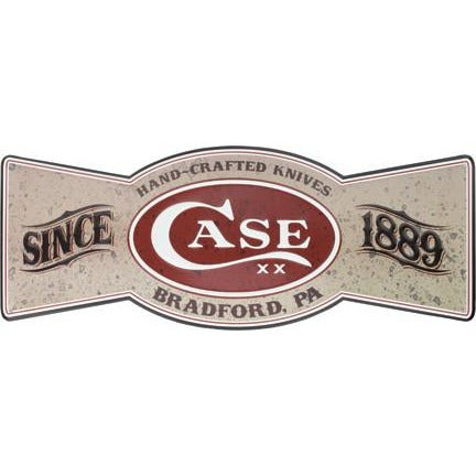 Case Cutlery Bowtie Tin Sign