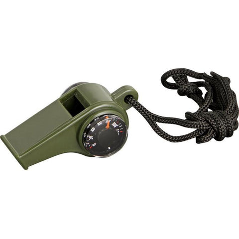 Explorer Emergency Whistle with Compass
