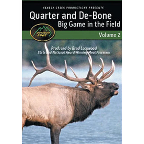 Outdoor Edge Quarter and Debone Big Game…
