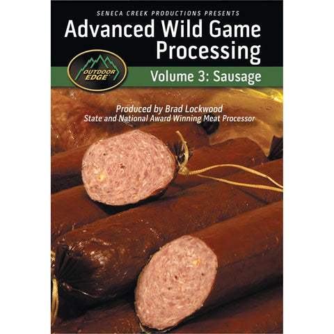 Outdoor Edge Advanced Sausage Processing