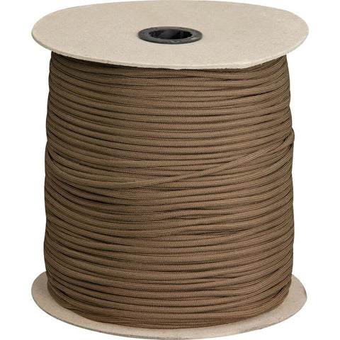 Parachute Cord Parachute Cord Brown 1000 ft