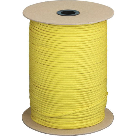 Parachute Cord Parachute Cord Yellow 1000 ft
