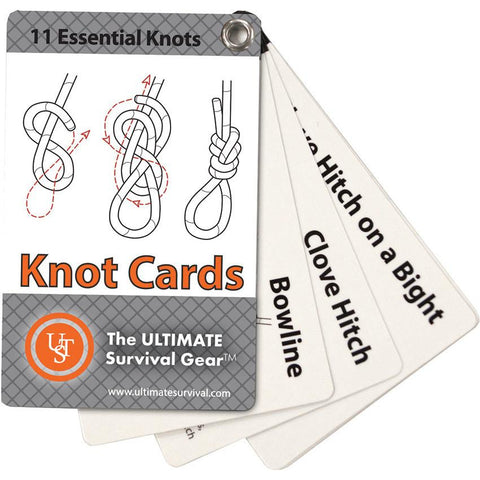UST Learn And Live Cards Knots