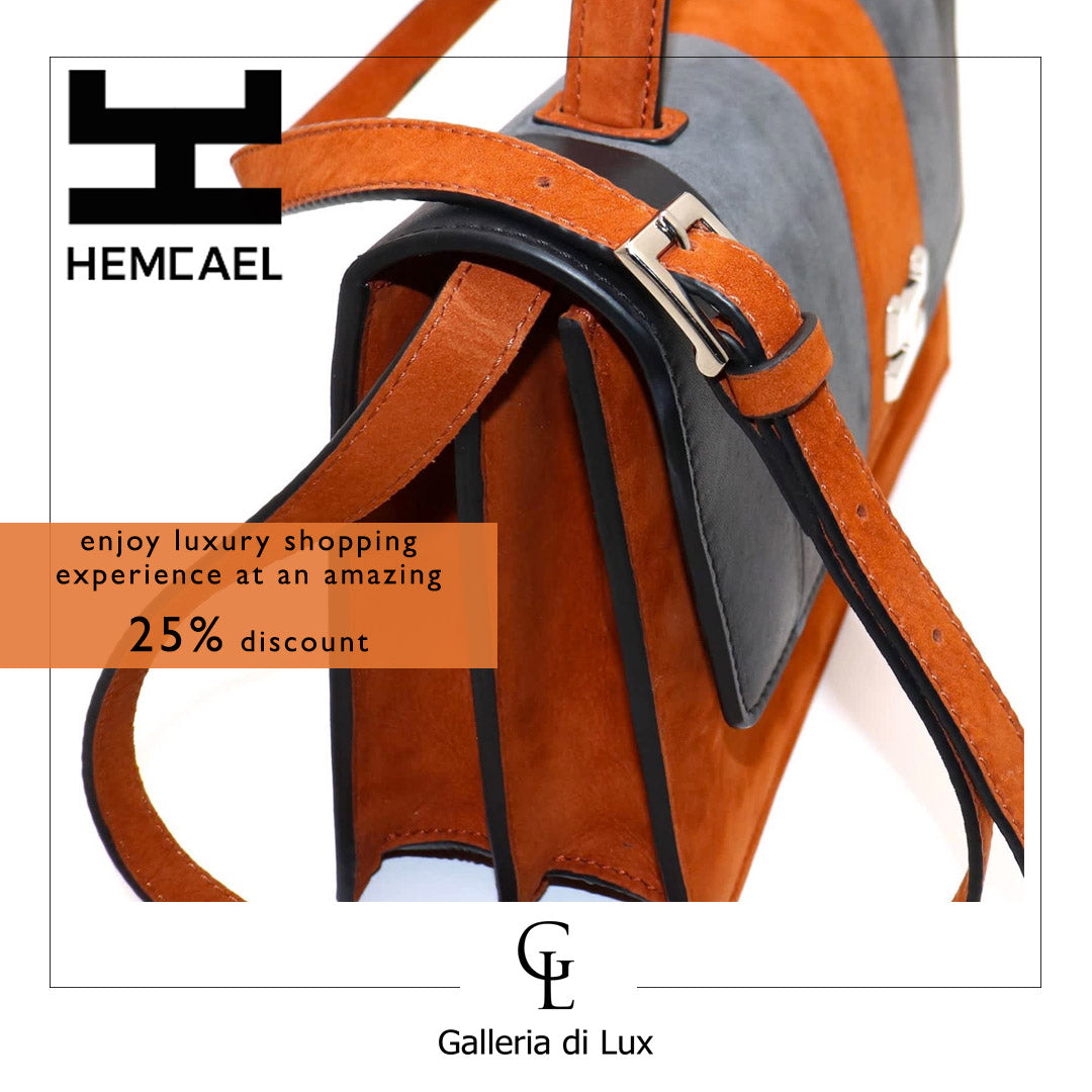 hemcael | shop at galleria di lux | luxury handbags, shoes, belts, clothings and more