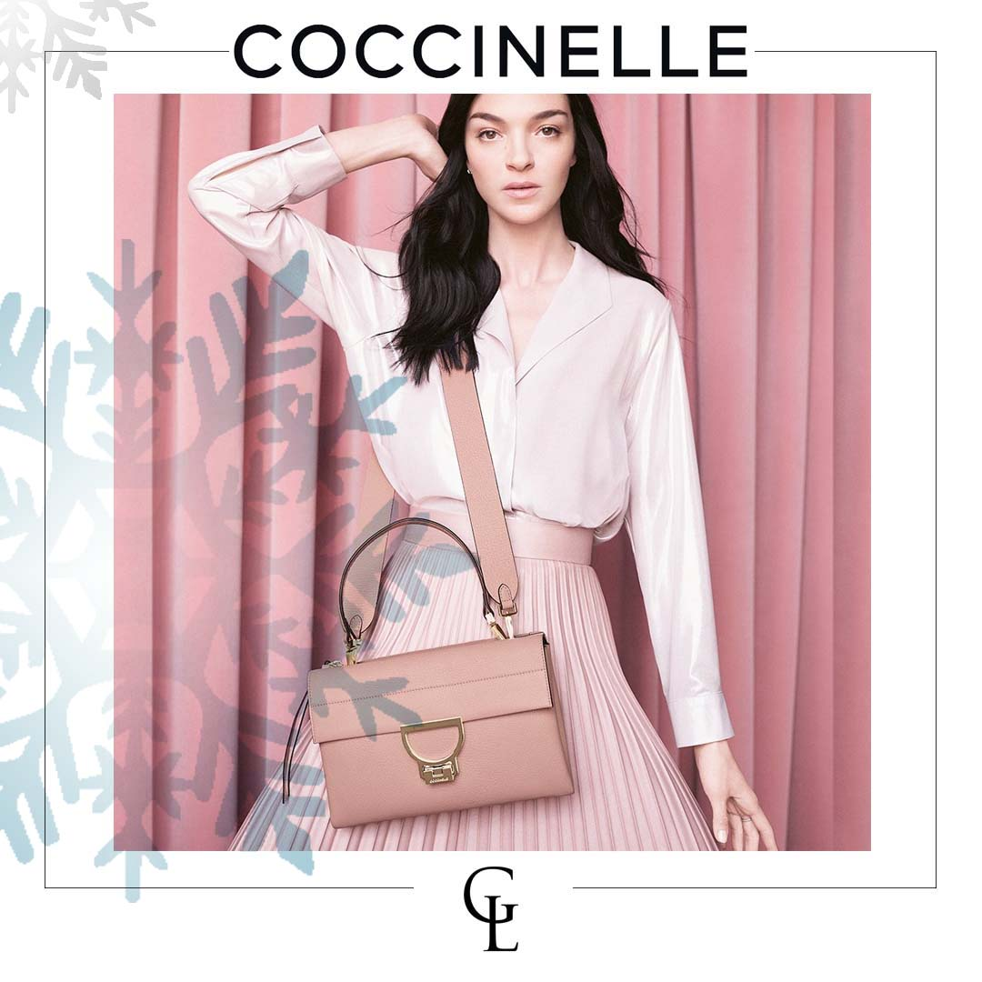 coccinelle | shop at galleria di lux | luxury handbags, shoes, belts, clothings and more