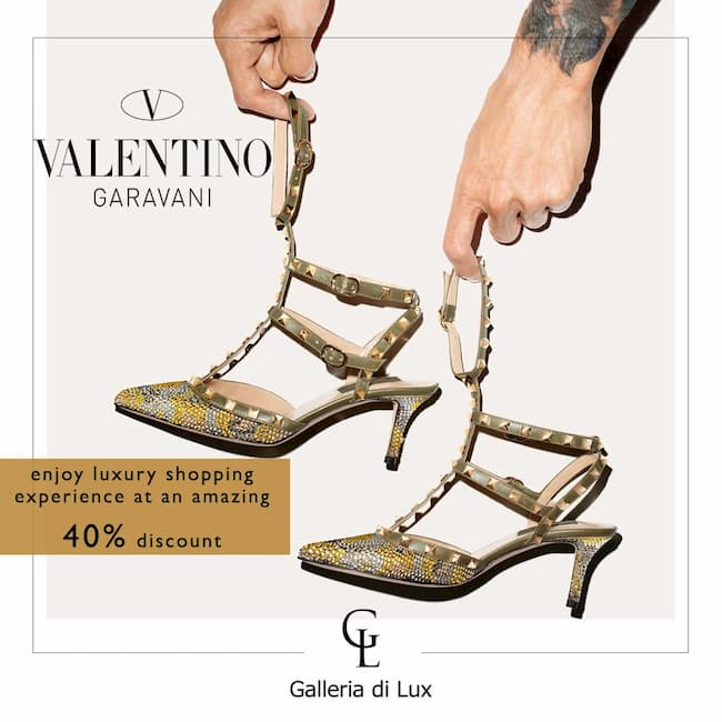 valentino | shop at galleria di lux | luxury handbags, shoes, belts, clothings and more