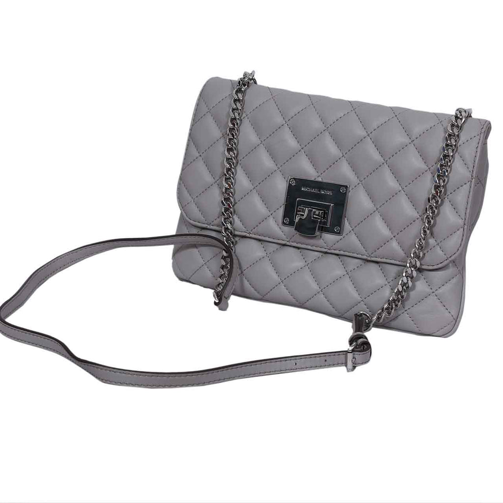 MICHAEL KORS ASTRID CARRYALL QUILTED FOLDOVER CLUTCH WALLET