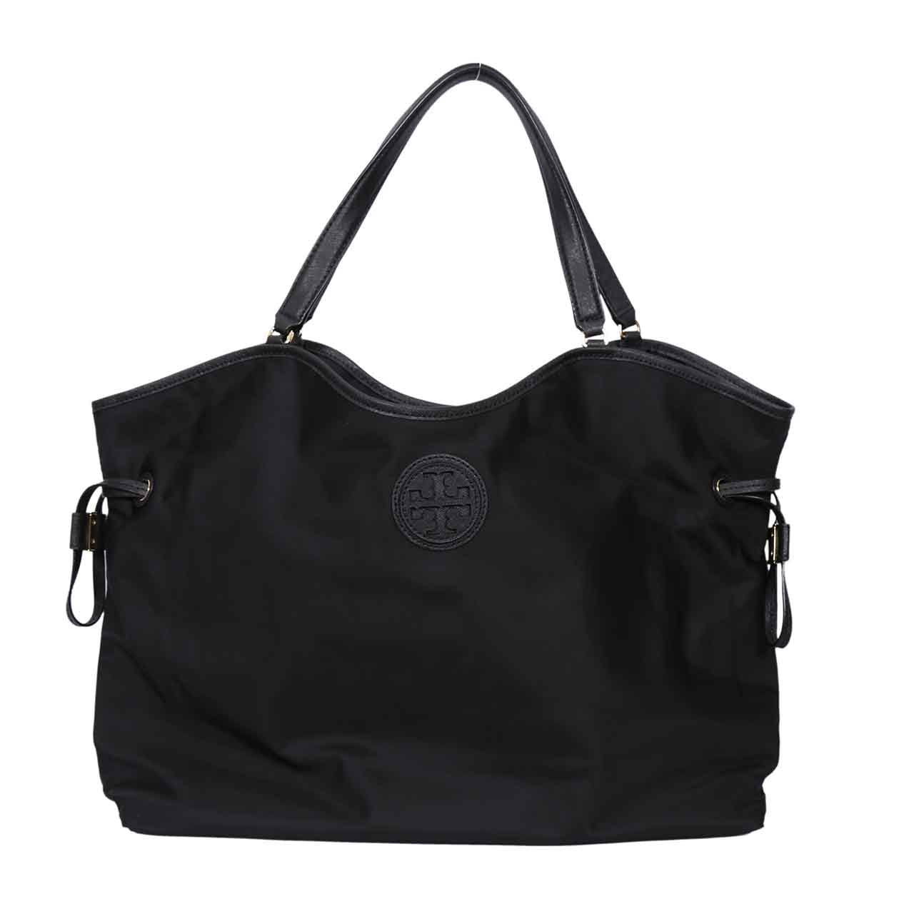 TORY BURCH NYLON SLOUCHY TOTE SHOULDER SHOPPER BAG