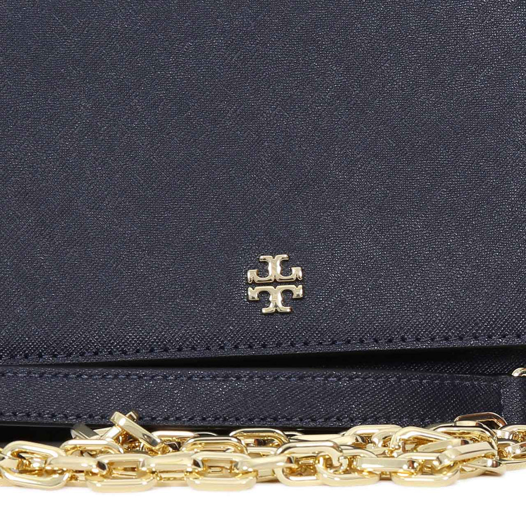 TORY BURCH EMERSON ROBINSON CHAIN WALLET CUM CROSS-BODY BAG