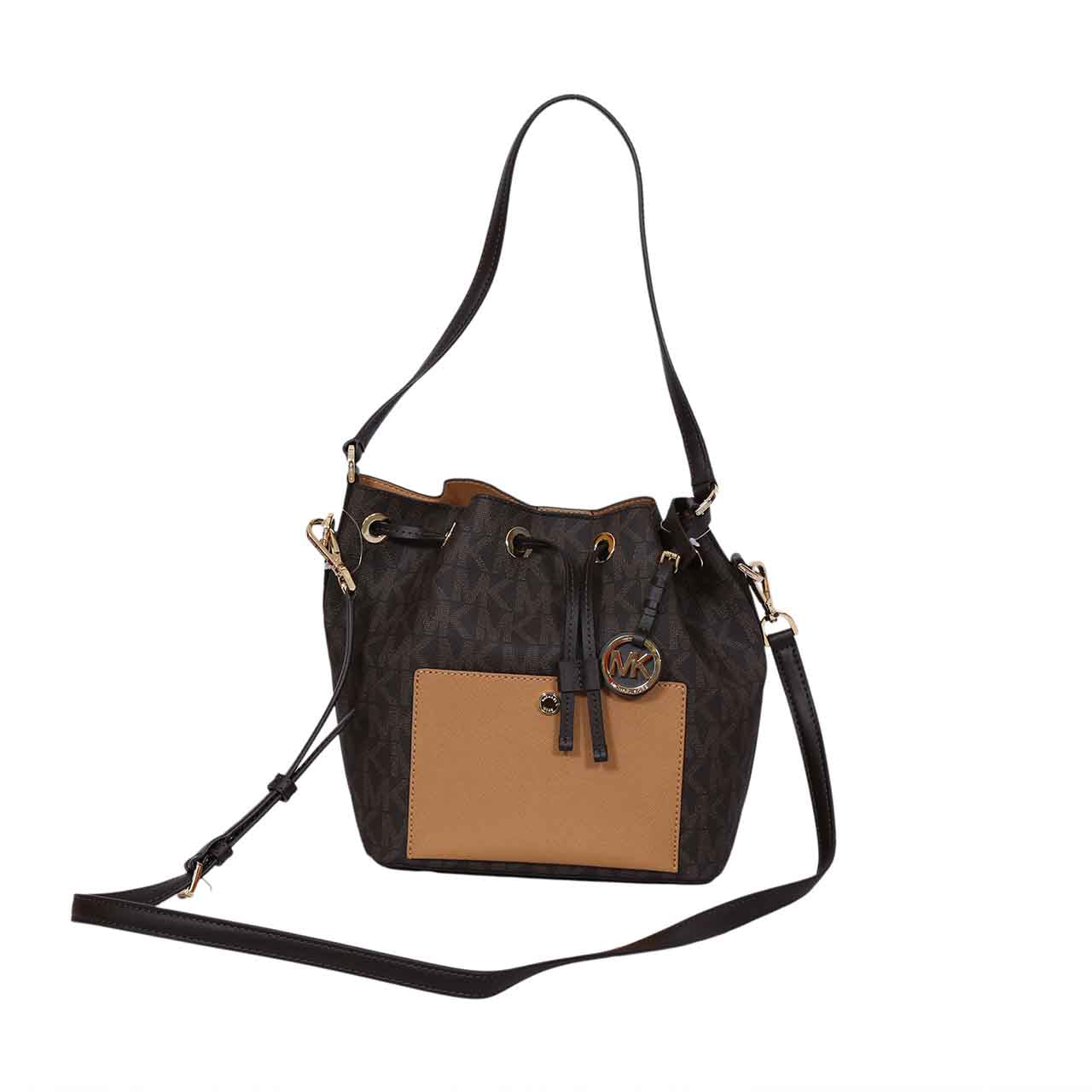 MICHAEL KORS MEDIUM 'GREENWICH' BUCKET BAG