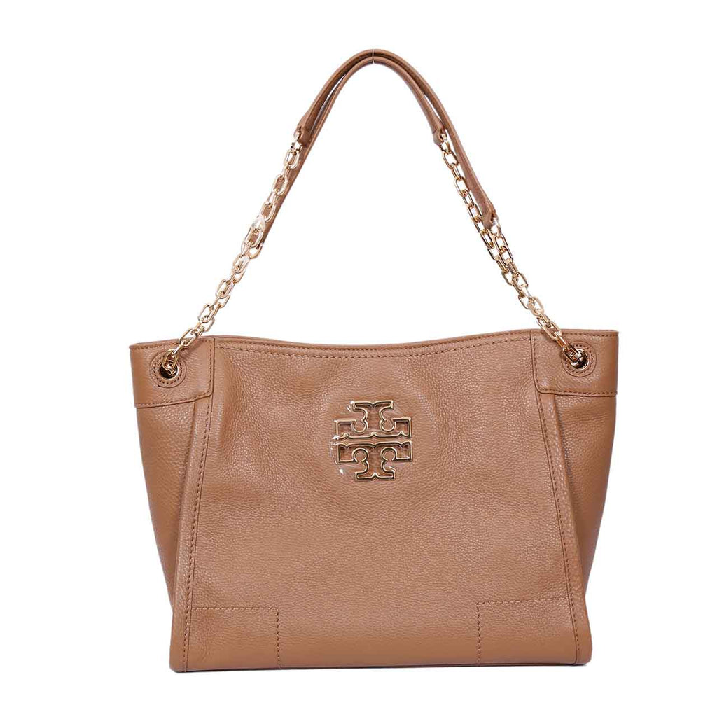TORY BURCH STUD ACCORN SMALL SATCHEL