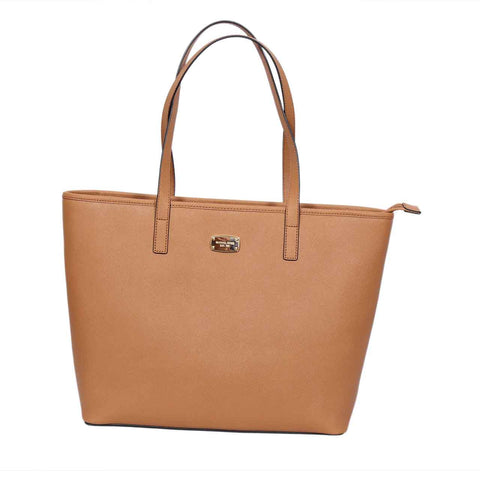 MICHAEL KORS JET SET TOP ZIP MULTI-FUNCTION TOTE