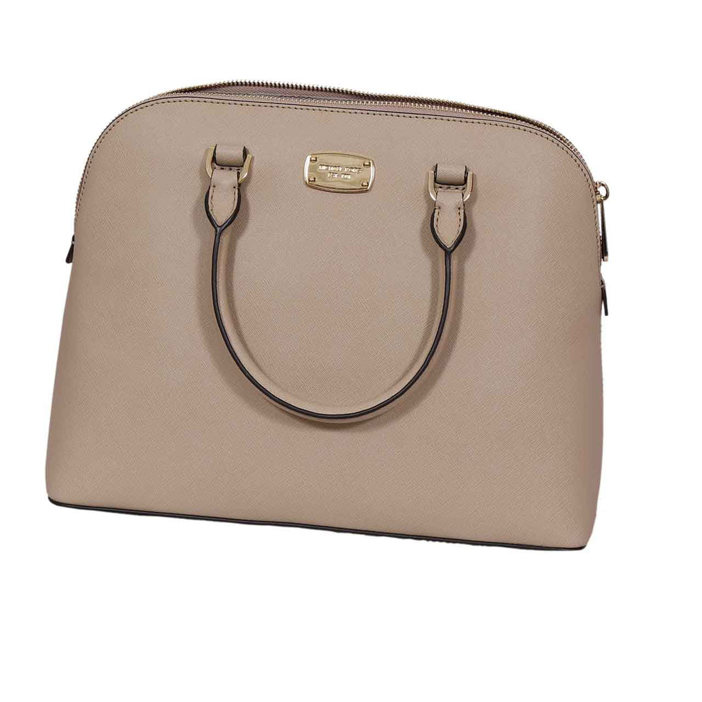 MICHAEL KORS MEDIUM CINDY DOME SATCHEL BAG