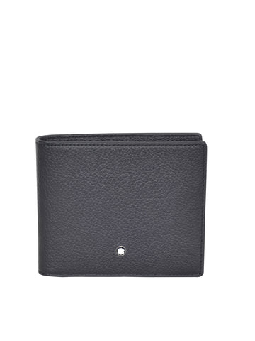 MONT BLANC MEN'S Meisterstück Soft Grain 6cc Wallet