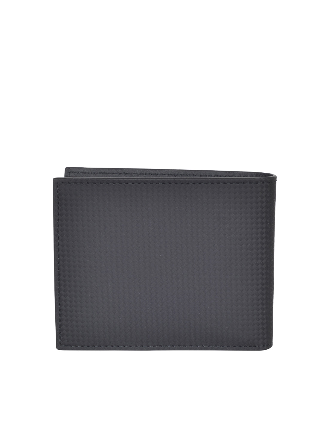 MONT BLANC MEN'S  Westside Extreme Black Leather 8CC Wallet