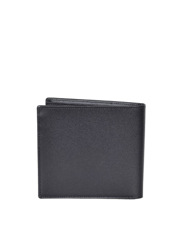 MONT BLANC MEN'S  Westside Extreme Black Leather 4CC Wallet