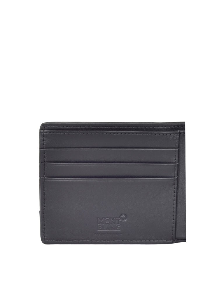 MONT BLANC MEN'S NightFlight 6cc nylon wallet