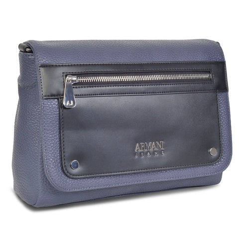 ARMANI DESIGNER WOMEN'S LEATHER MESSENGER BAG