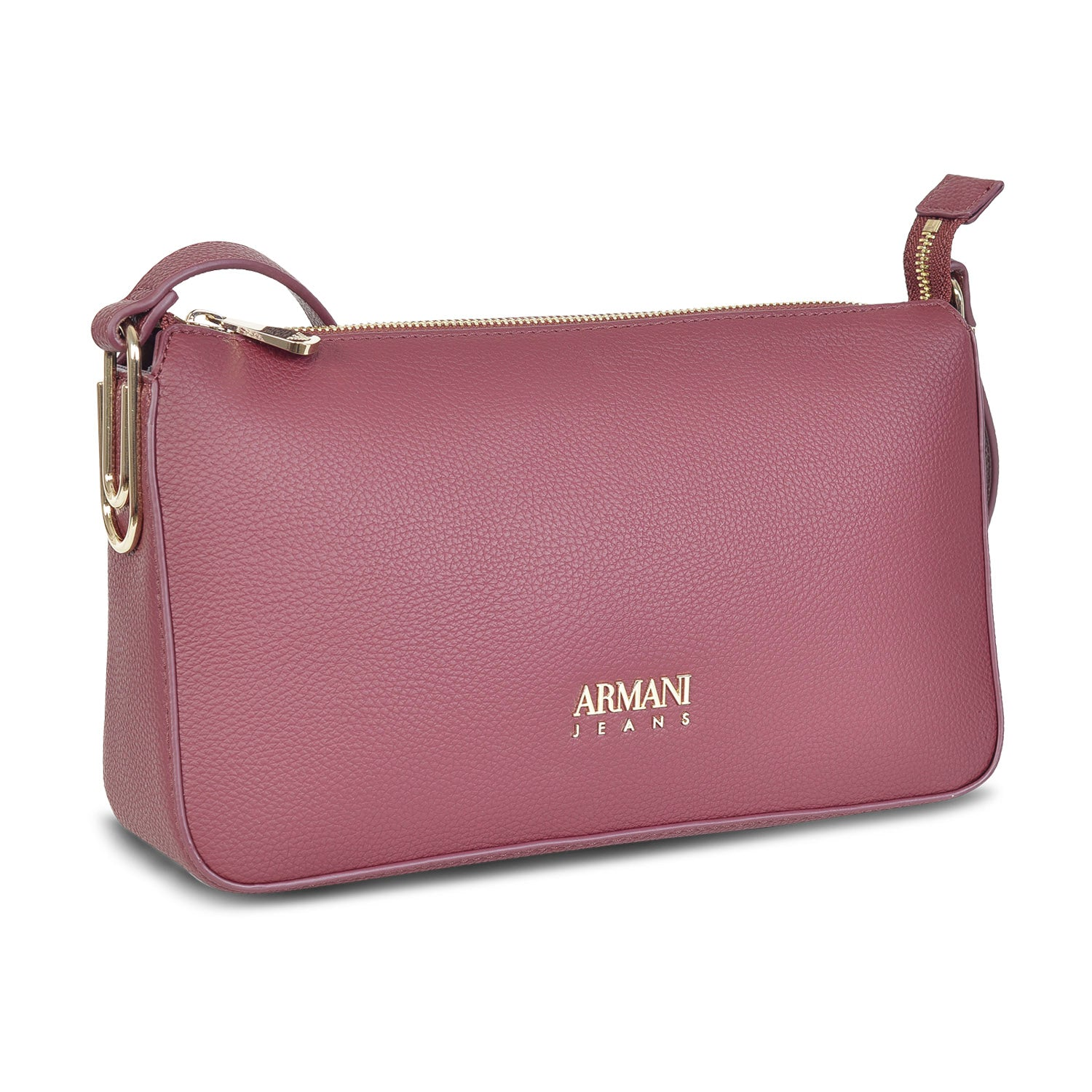 ARMANI DESIGNER WOMEN'S LEATHER MINI  SLING BAG