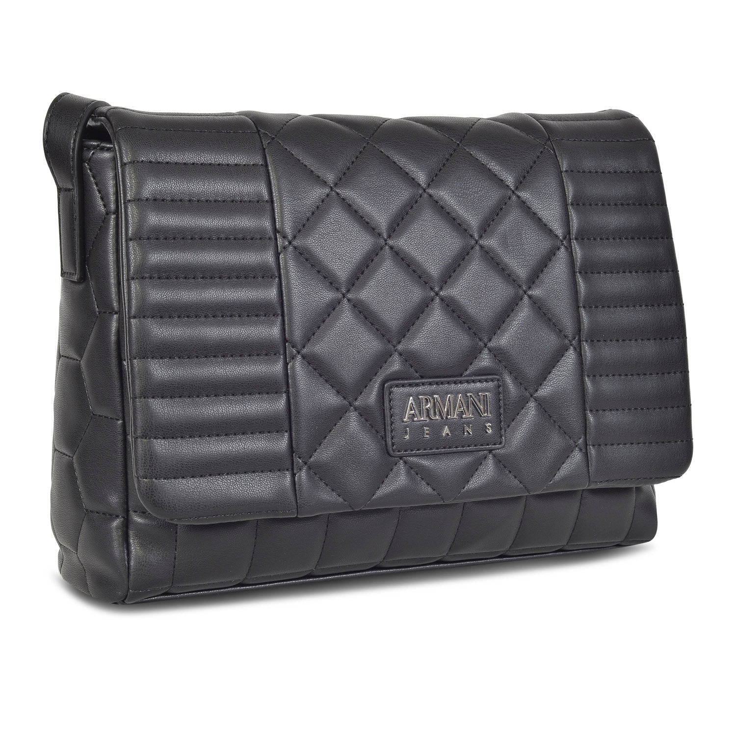 ARMANI DESIGNER WOMEN'S LEATHER QUILTED BAG