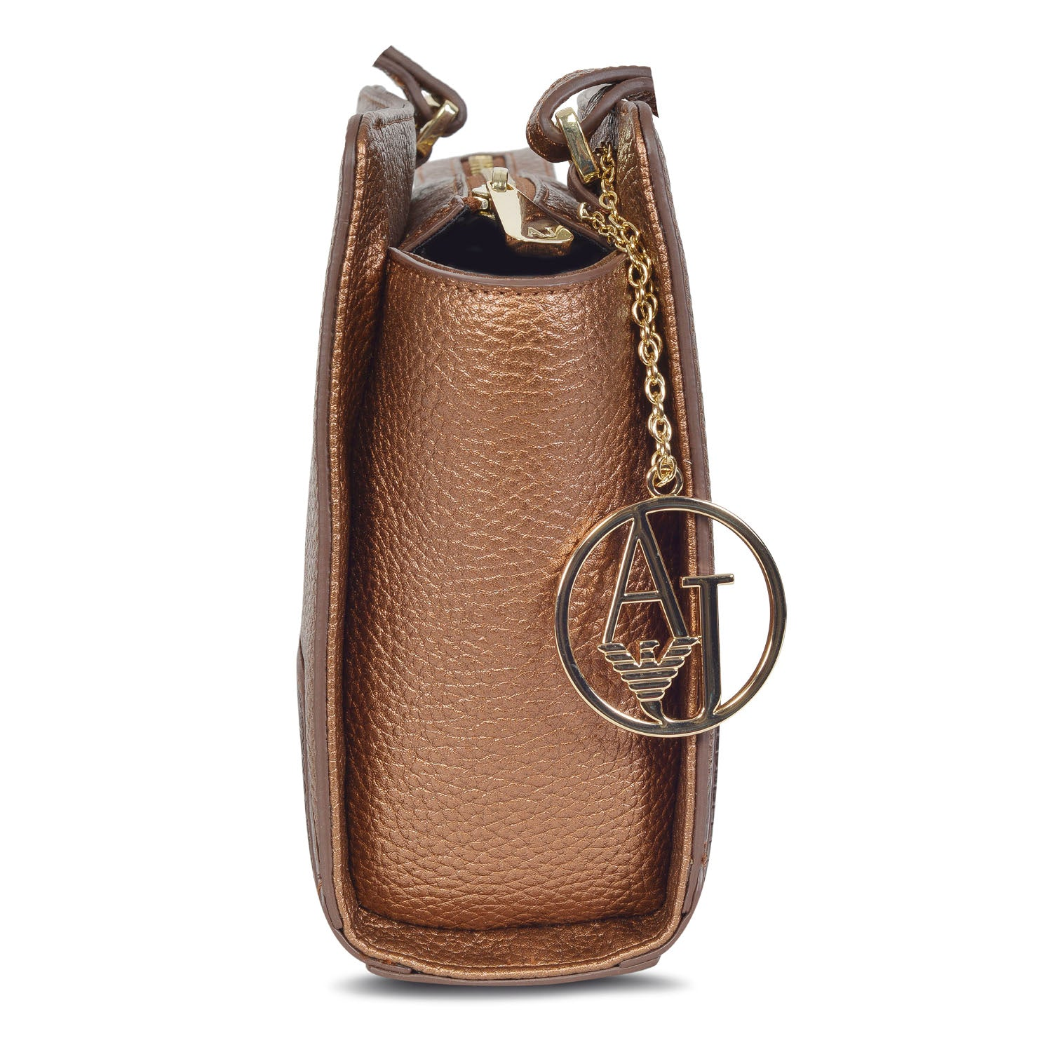 17a0086795 ARMANI DESIGNER WOMEN'S LEATHER CROSSBODY BAG with AJ charm