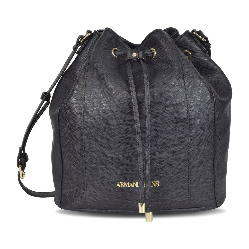 24fe9a228a22 ARMANI DESIGNER WOMEN S LEATHER BUCKET bag – Galleria di Lux