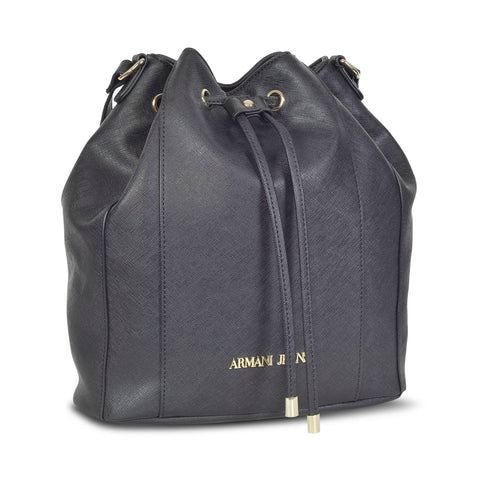 ARMANI DESIGNER WOMEN'S LEATHER BUCKET bag